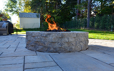 Highlight Landscaping CT hardscape patio
